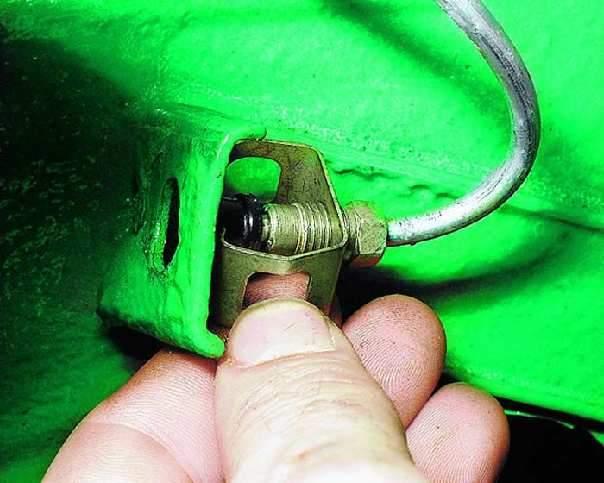 Как заглушить тормозную трубочку