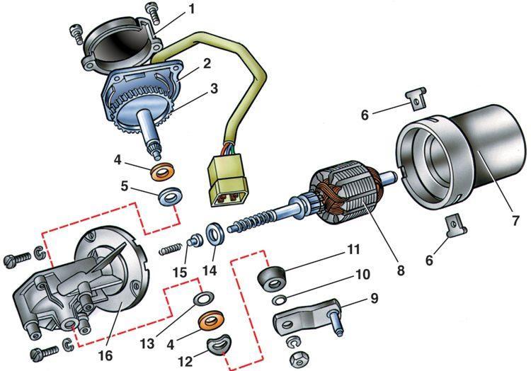 работы как собрать электромотор опрыскивателя фар газ 3102 волга …Белье целом оцениваю