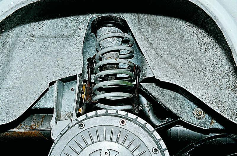 Амортизатор ваз 2106 замена