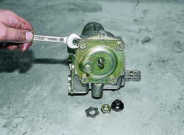 Ремонт рулевого редуктора ваз 2106 видео