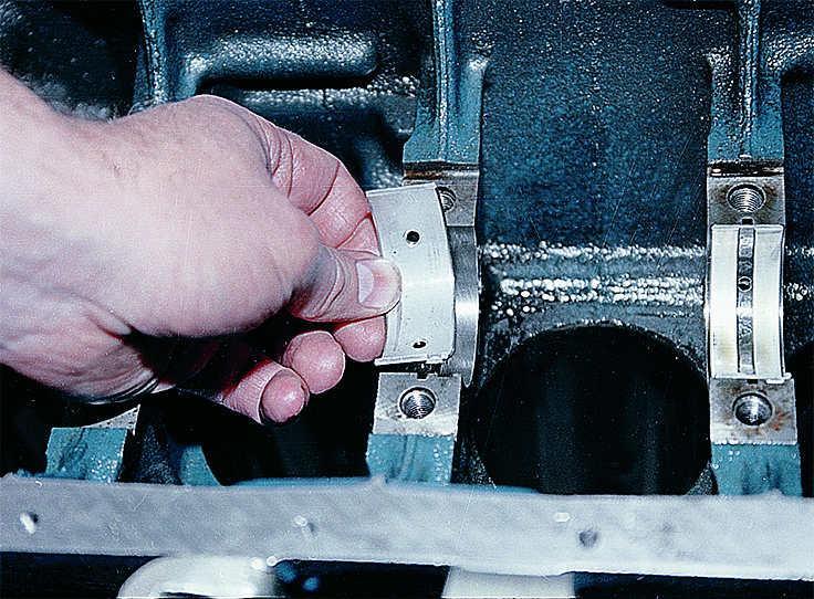 Можно поменять вкладыши не снимая двигатель