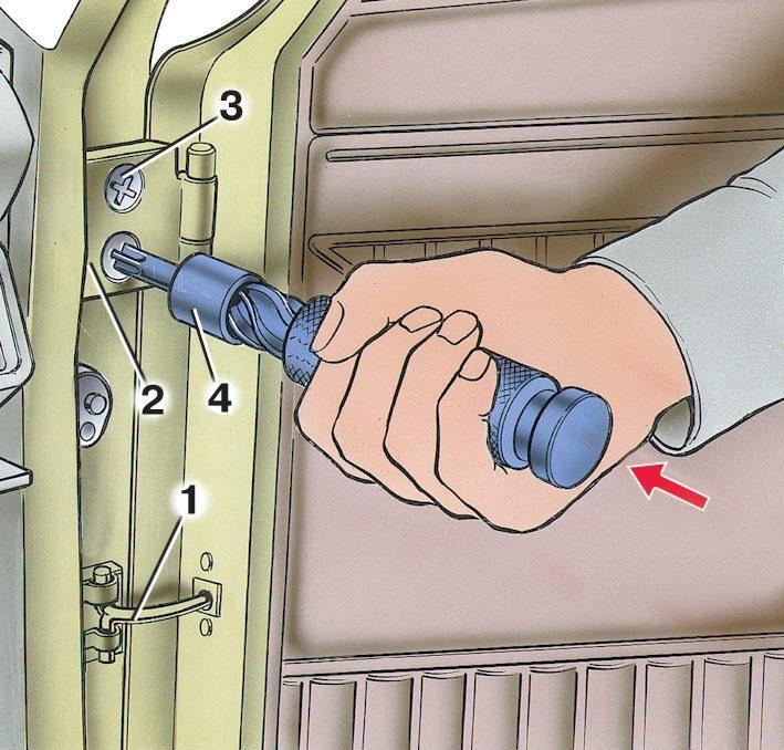 Отрегулировать двери на вазе своими руками