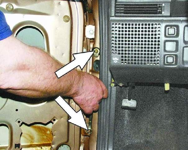 Ваз 2109 ремонт дверей