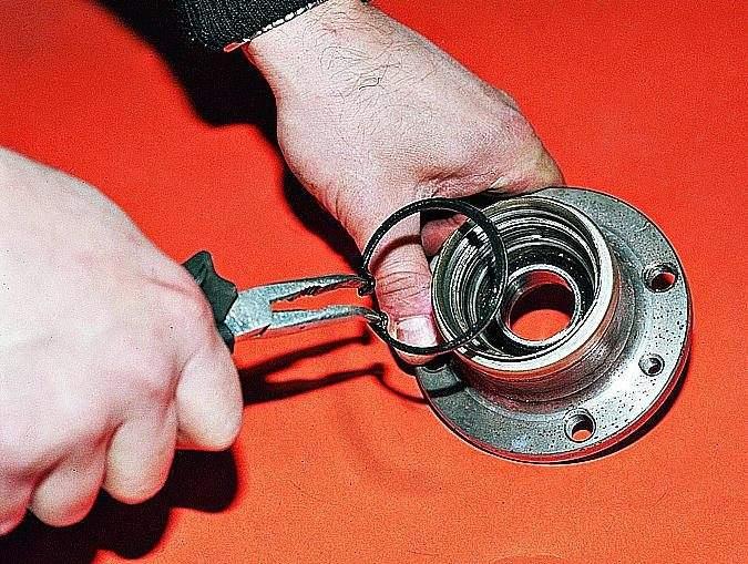 Замена заднего подшипника ступицы на ваз 2110