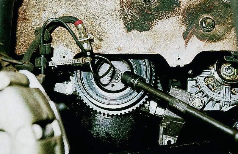 Фото №8 - ВАЗ 2110 замена шестерни грм
