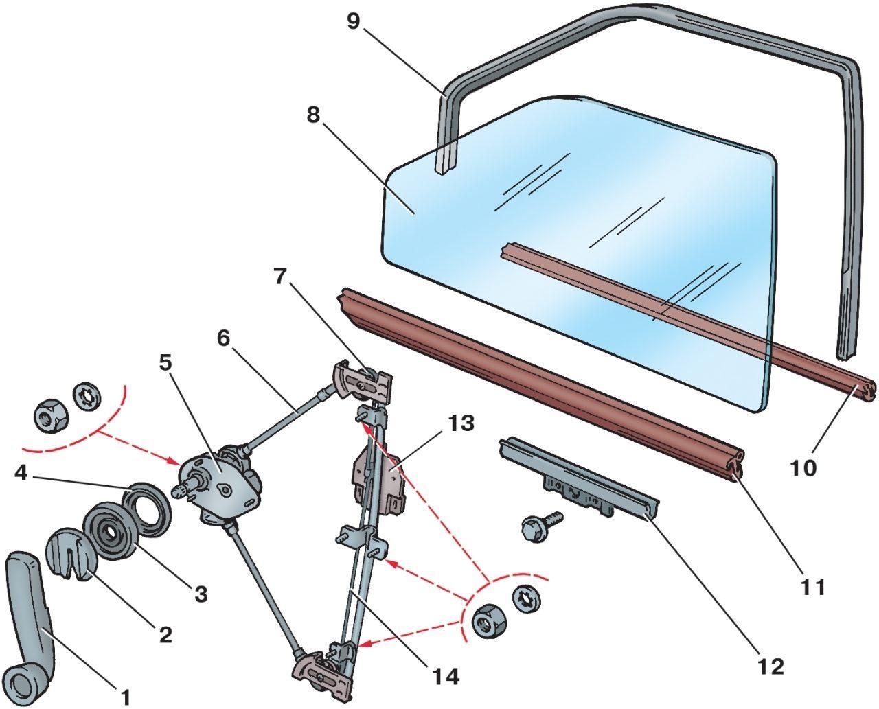 Фото №6 - как отрегулировать стеклоподъемники на ВАЗ 2110
