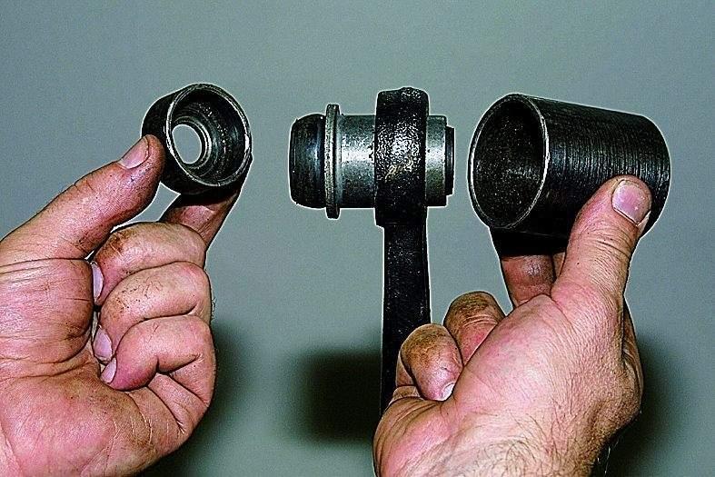 Как заменить сайлентблоки передних рычагов своими руками