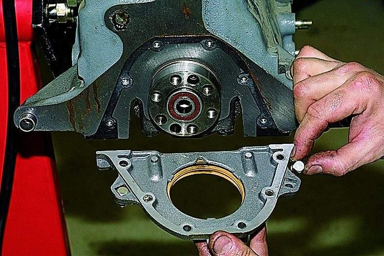 двигатель 21213 разборка и сборка