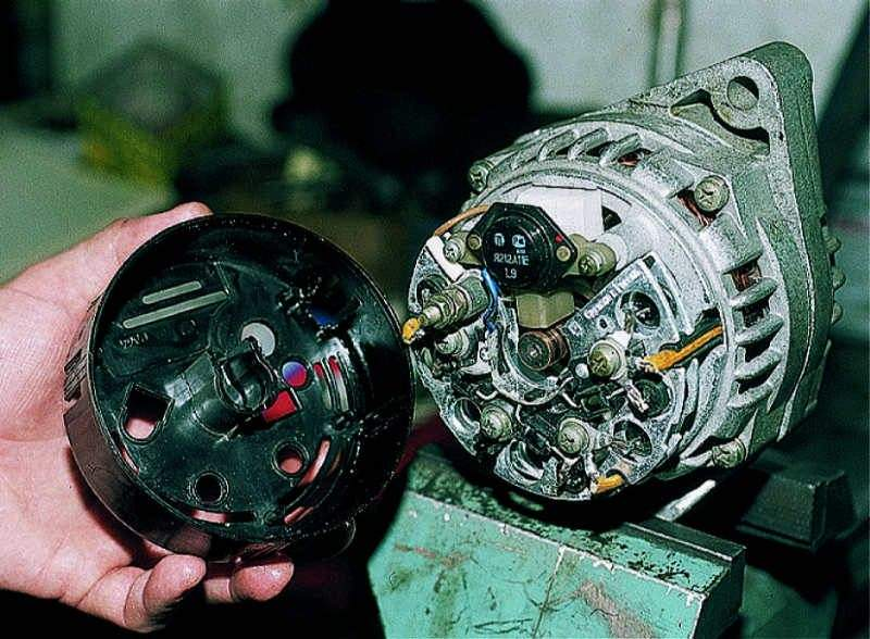 Замена генератора ваз 21074 инжектор своими руками