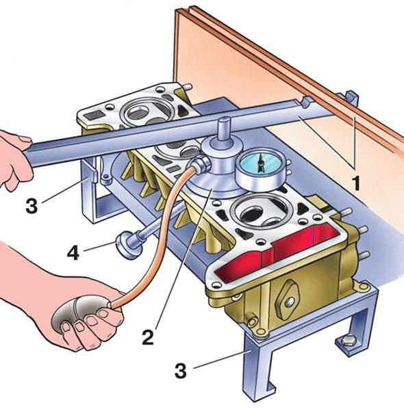 Как сделать приспособление для притирки клапанов