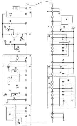 б. Монтажная схема системы управления топливной системой автомобиля Mazda 3 без иммобилайзера (часть 2 – продолжение)