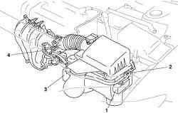 Система VAD автомобиля Mazda 3 с двигателем L3
