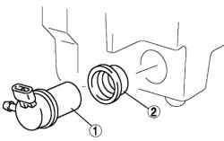 Снятие электродвигателя омывателя ветрового стекла