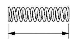 Измерение длины пружины плунжера