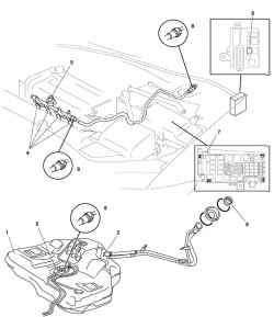 Топливный узел автомобиля Mazda 3
