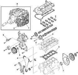 Компоненты двигателя Z6