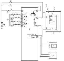 Монтажная схема системы ABS/TCS тормозного контура автомобиля Мazda 3