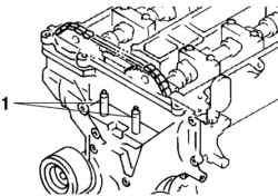 Резьбовая (сварочная) шпилька кронштейна опоры двигателя №3