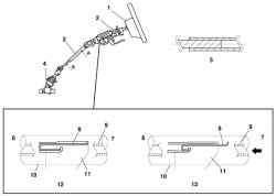 Схема работы рулевого механизма с переменной характеристикой