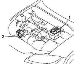 Система электроснабжения автомобиля Mazda 3