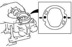 Установка статорного кольца в переднем корпусе насоса
