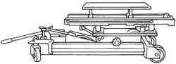 Закрепление двигателя на моторном домкрате