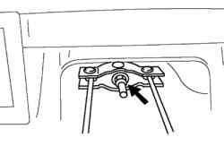 Регулировочная гайка стояночной тормозной системы