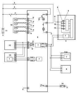 Монтажная схема системы DSC тормозного контура автомобиля Мazda 3