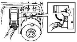 Проверка надежности установки крышки разъема