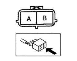 Выводы разъема управляющего масляного клапана (OCV)