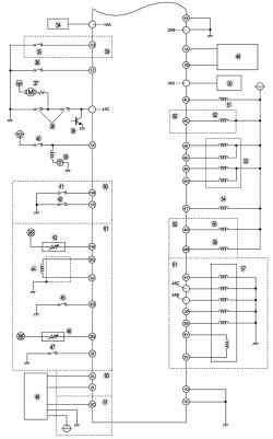 б. Монтажная схема системы управления топливной системой автомобиля Mazda 3 с иммобилайзером (часть 2 – продолжение)