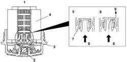 Принцип работы масляного фильтра, установленного на двигателях модели L8