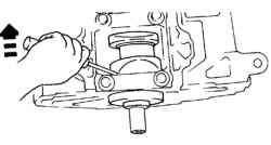 Вращение балансировчного вала с помощью отвертки