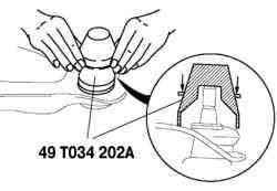 Проверка момента сопротивления вращению шарового шарнира