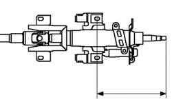 Проверка длины рулевого вала