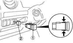 Порядок снятия управляющего переключателя освещения на панели приборов