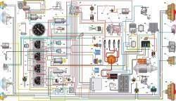 Схема электрооборудования автомобилей УАЗ–3303