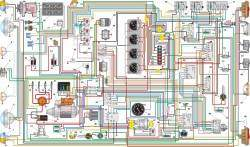 Схема электрооборудования автомобиля УАЗ–3153