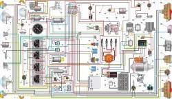 Схема электрооборудования автомобилей УАЗ–3741, –3909, –3962, –2206