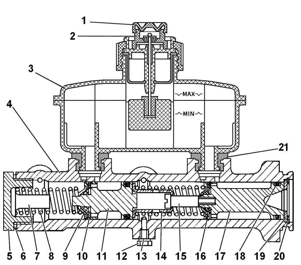 Фото №16 - устройство главного тормозного цилиндра ВАЗ 2110