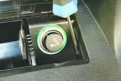 Снятие и установка патрона прикуривателя