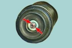 Ремонт амортизаторной стойки передней подвески