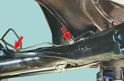 Замена трубок гидропривода тормозов
