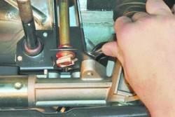 Ремонт шарниров привода переключения передач