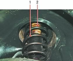 Проверка технического состояния деталей задней подвески на автомобиле
