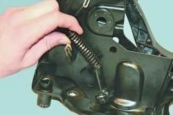 Снятие, ремонт и установка педального узла