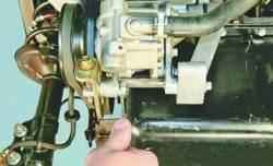Замена ремня привода насоса гидроусилителя рулевого управления