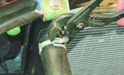 Замена радиатора системы охлаждения