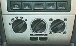 Отопление (кондиционирование) и вентиляция салона
