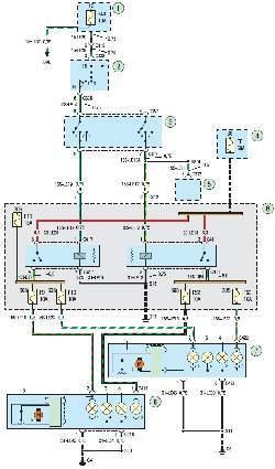 Схема 22а. Блок-фары